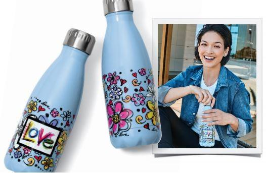 Our Gift To YOU – Scribble Garden Water Bottle