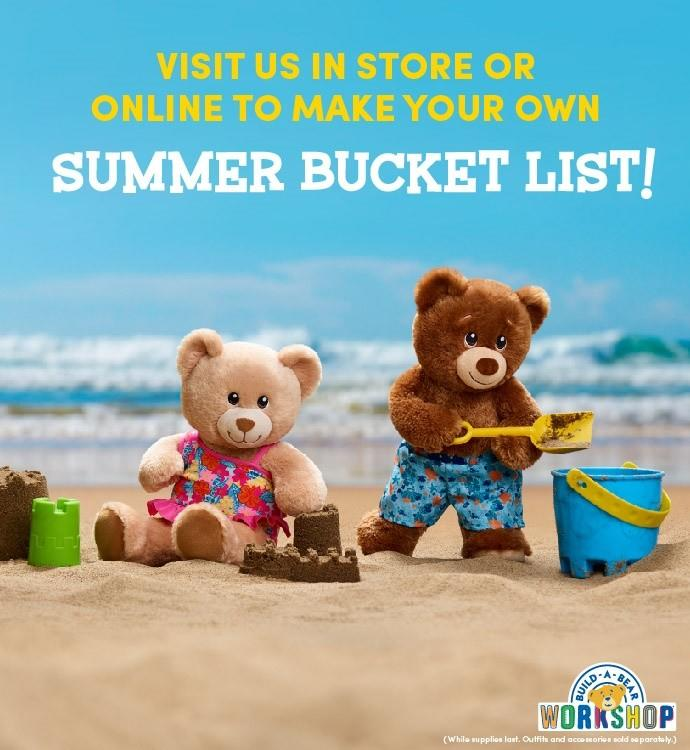 Check Off Your Summer Bucket List with Build-A-Bear! from Build-A-Bear Workshop