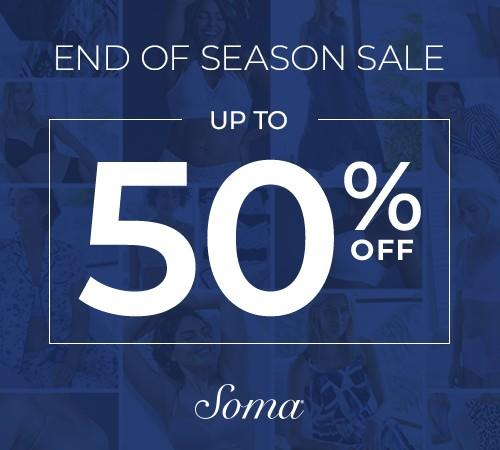 END OF SEASON SALE from Soma Intimates