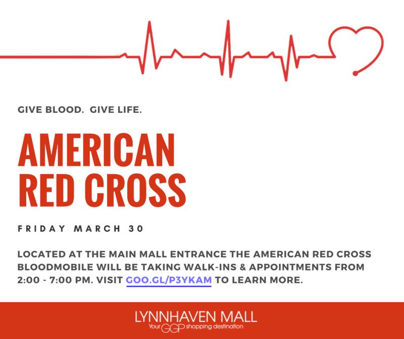 Lynnhaven Mall - American Red Cross Blood Drive