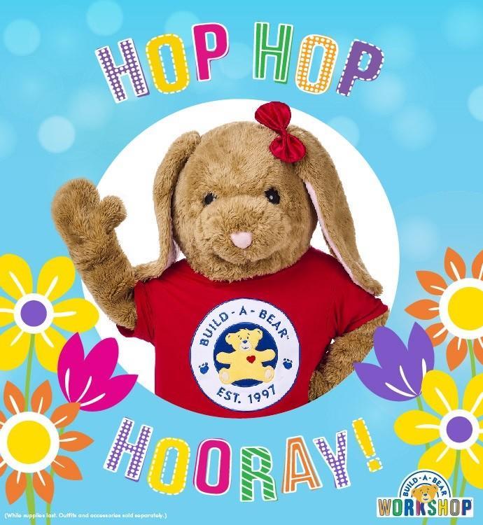 Hop Hop Hooray! Easter EVent from Build-A-Bear Workshop