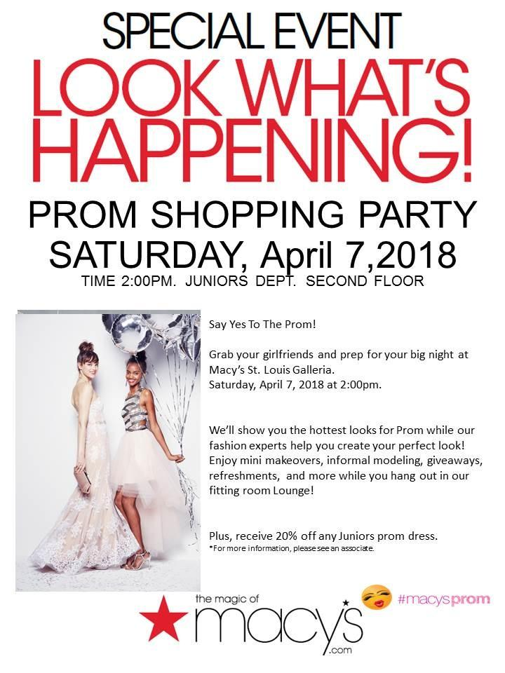 Event at macy\'s
