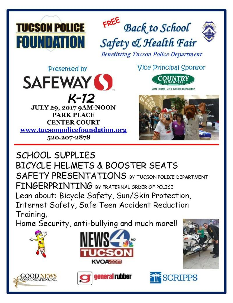 Back to School Safety and Health Fair