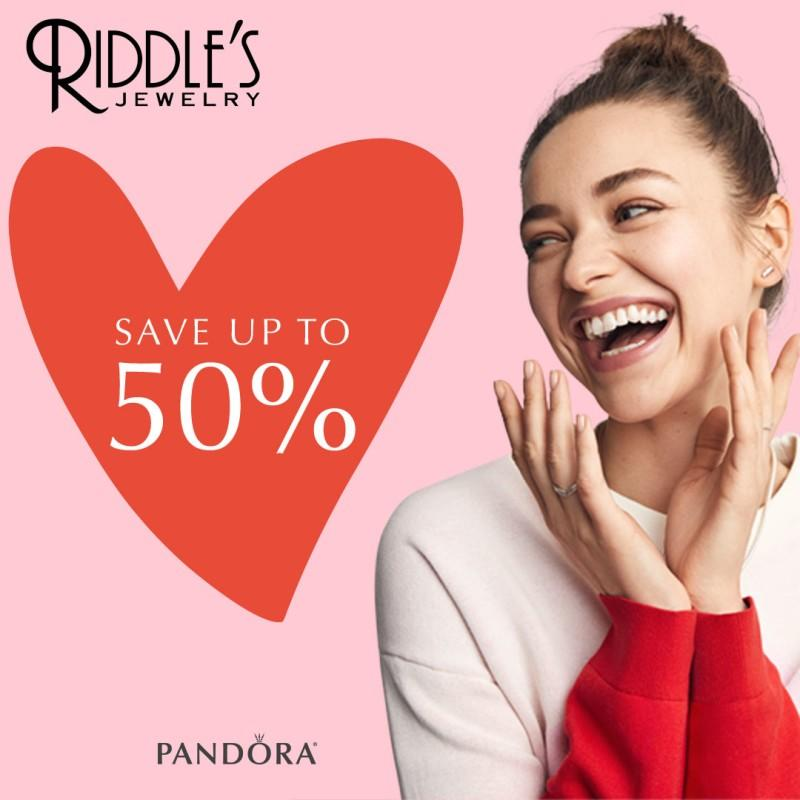 Pandora June Sale! from Riddle's Jewelry