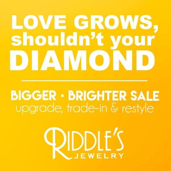 Bigger Brighter Sale from Riddle's Jewelry