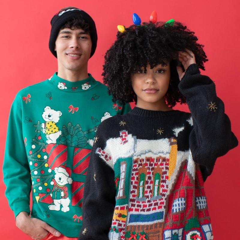 50% Off All Vintage Christmas Sweaters! from Ragstock