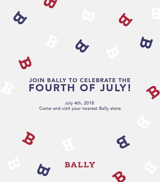 Celebrate the 4h of July at Bally