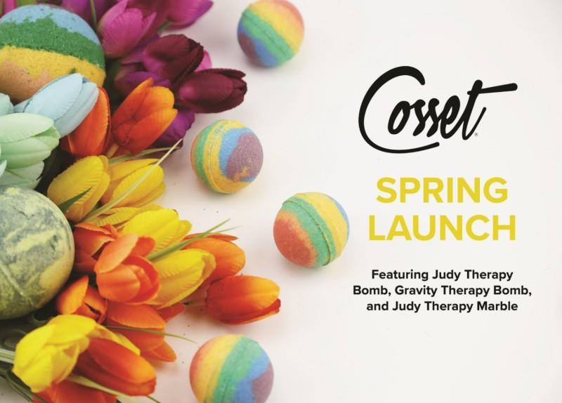 Spring Launch from Cosset