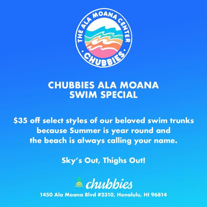 Swim Special from Chubbies