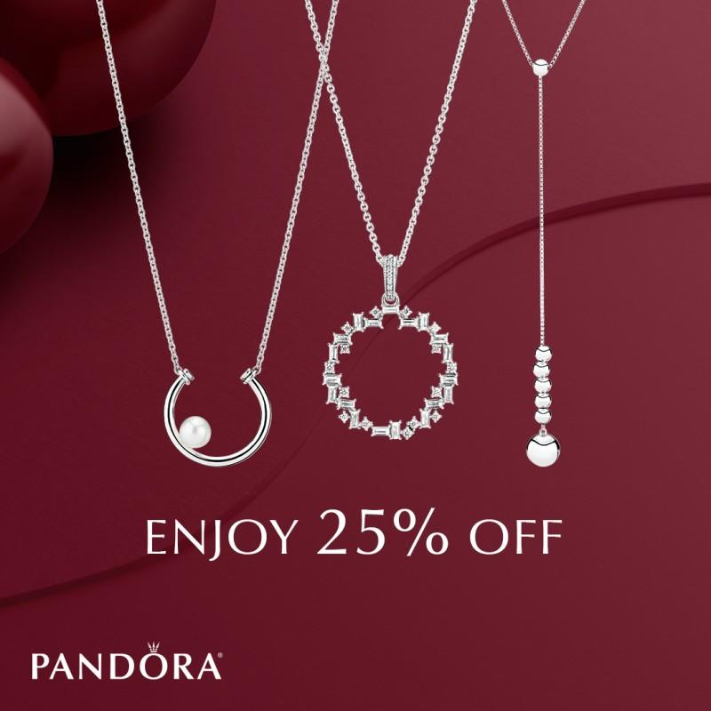 25% Off Your Entire Order from PANDORA