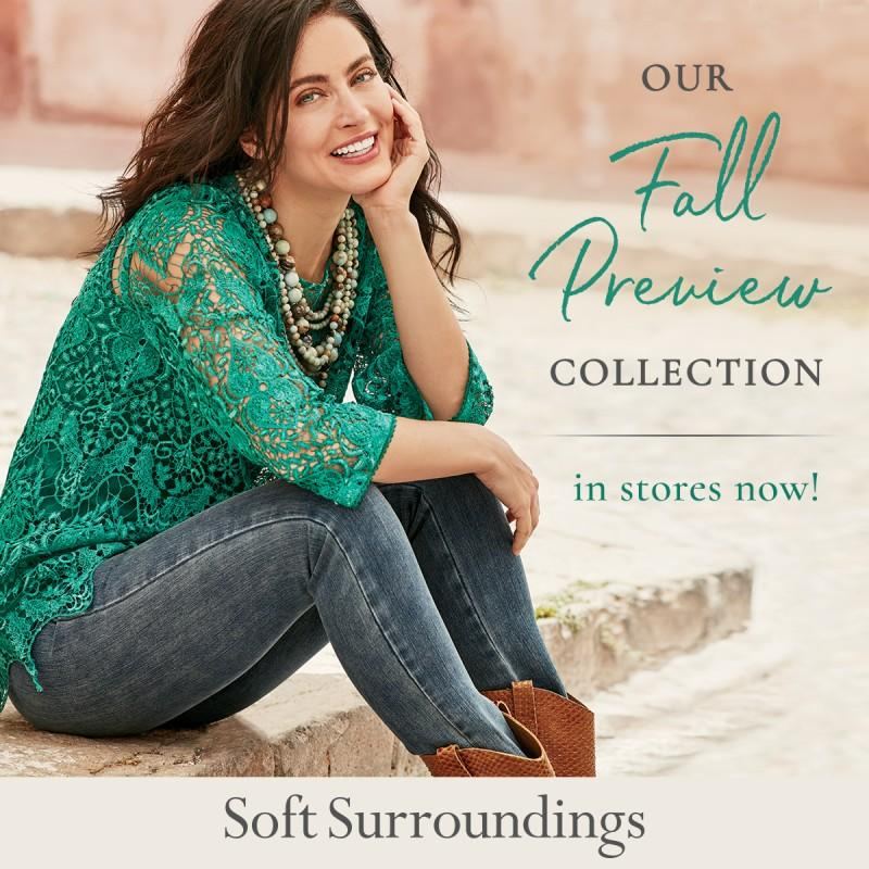 Fall Preview Collection from Soft Surroundings