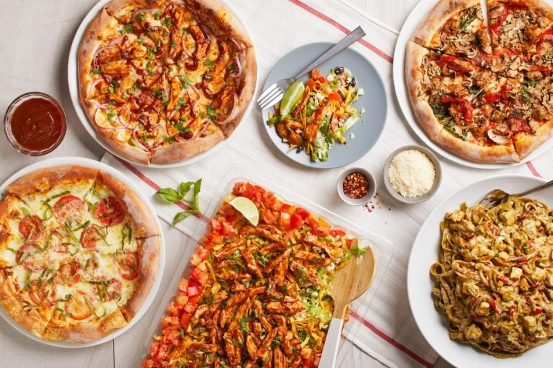 New Catering Menu from California Pizza Kitchen