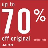 Up to 70% off! from ALDO Shoes