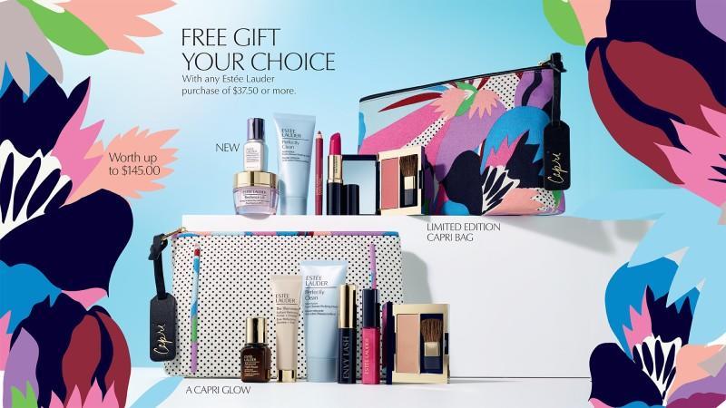 Macy's Estee Lauder - Spring promotion!