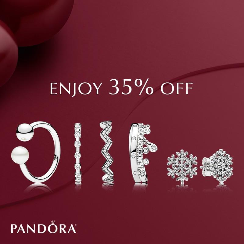 35% Off Your Entire Purchase from PANDORA