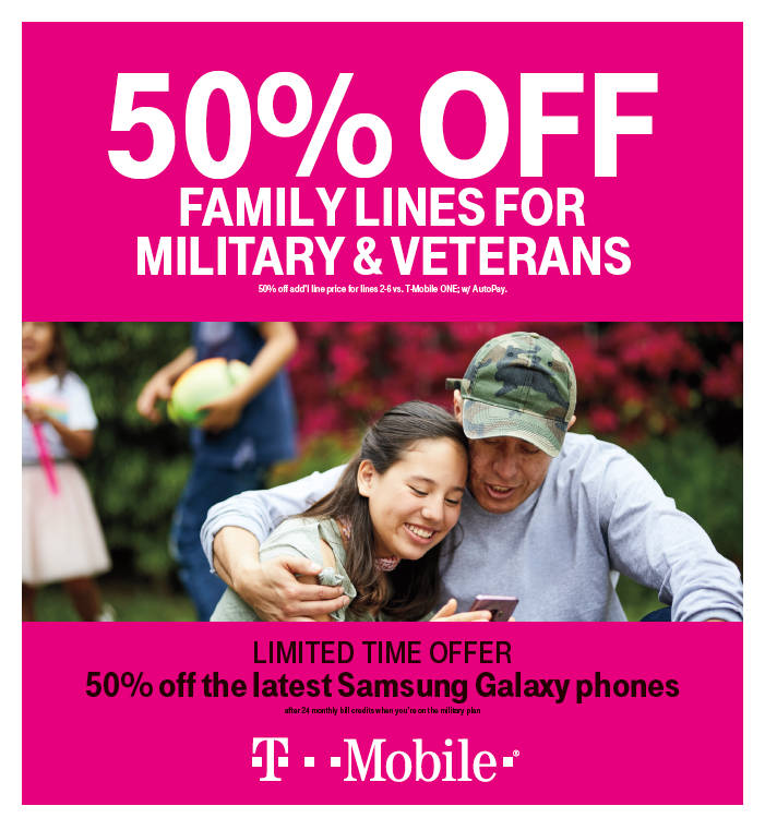 Military Plan from T-Mobile