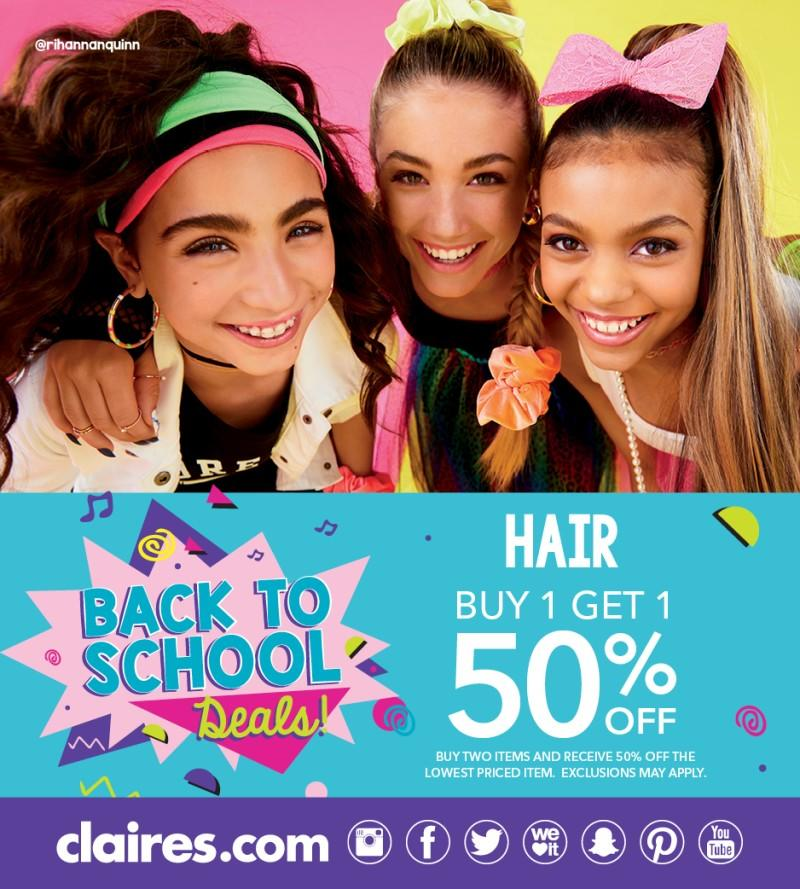 Hair Deal from Claire's