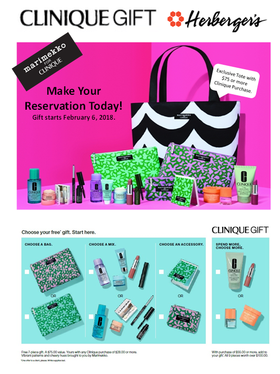 Clinique - Spring GIft from Herberger's