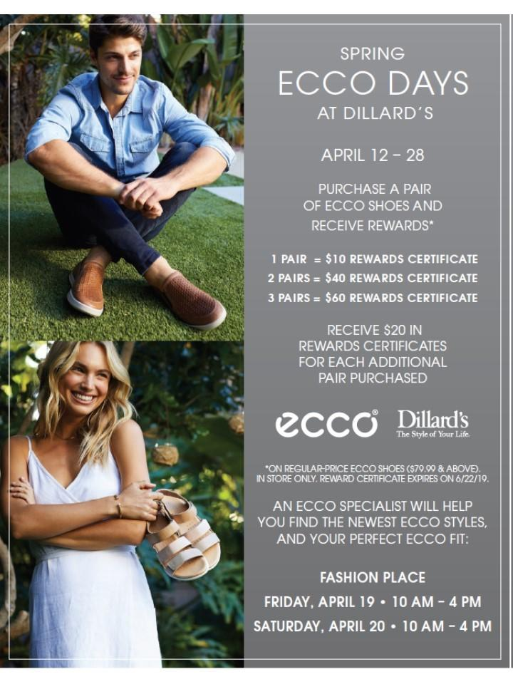 ECCO Days at Dillard's from Dillard's