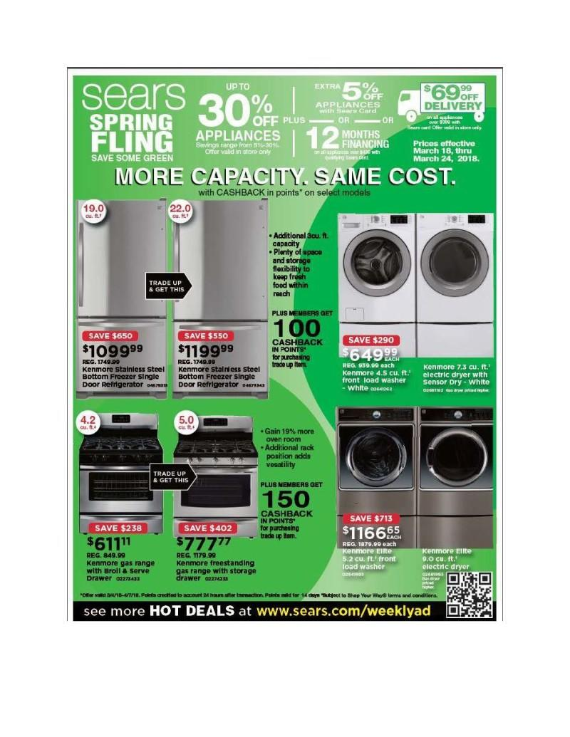 Sears Family & Friends Get 10-15% off regular & sale Prices. from Sears