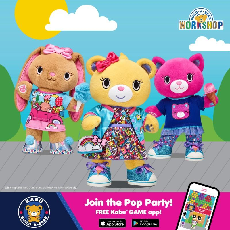 PAWsitively Awesome World of Kabu from Build-A-Bear Workshop