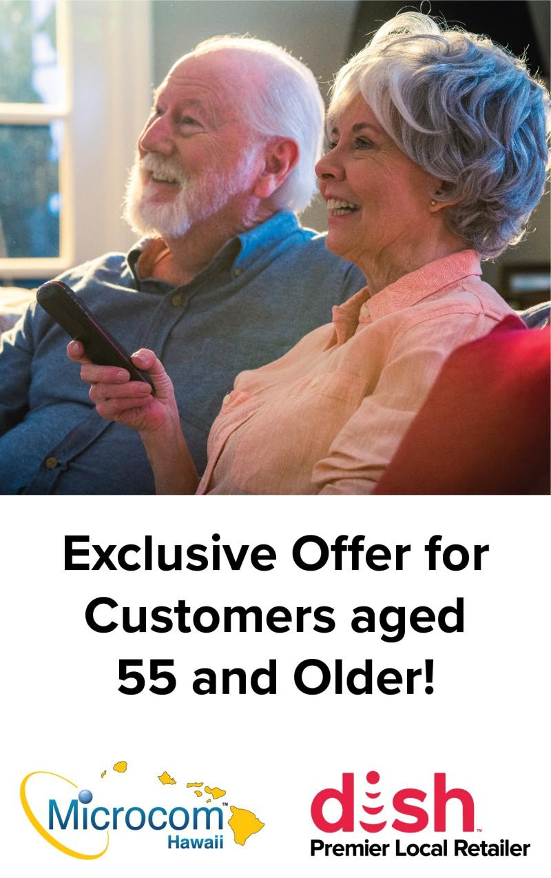 Savings for Seniors! from MICROCOM