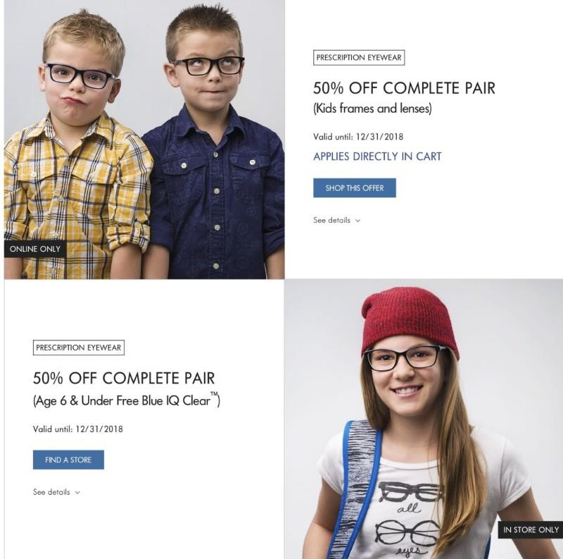 50% off Kids at LensCrafters | Bridgewater Commons