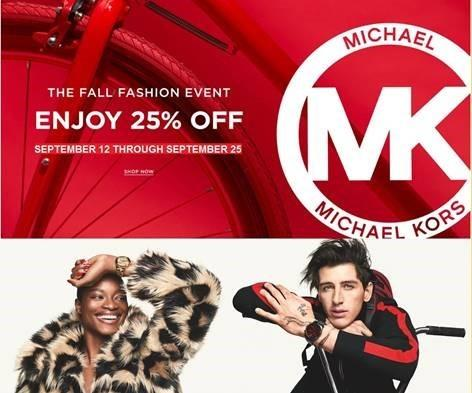 25% Off for Michael Kors Week at Macy's from macy's