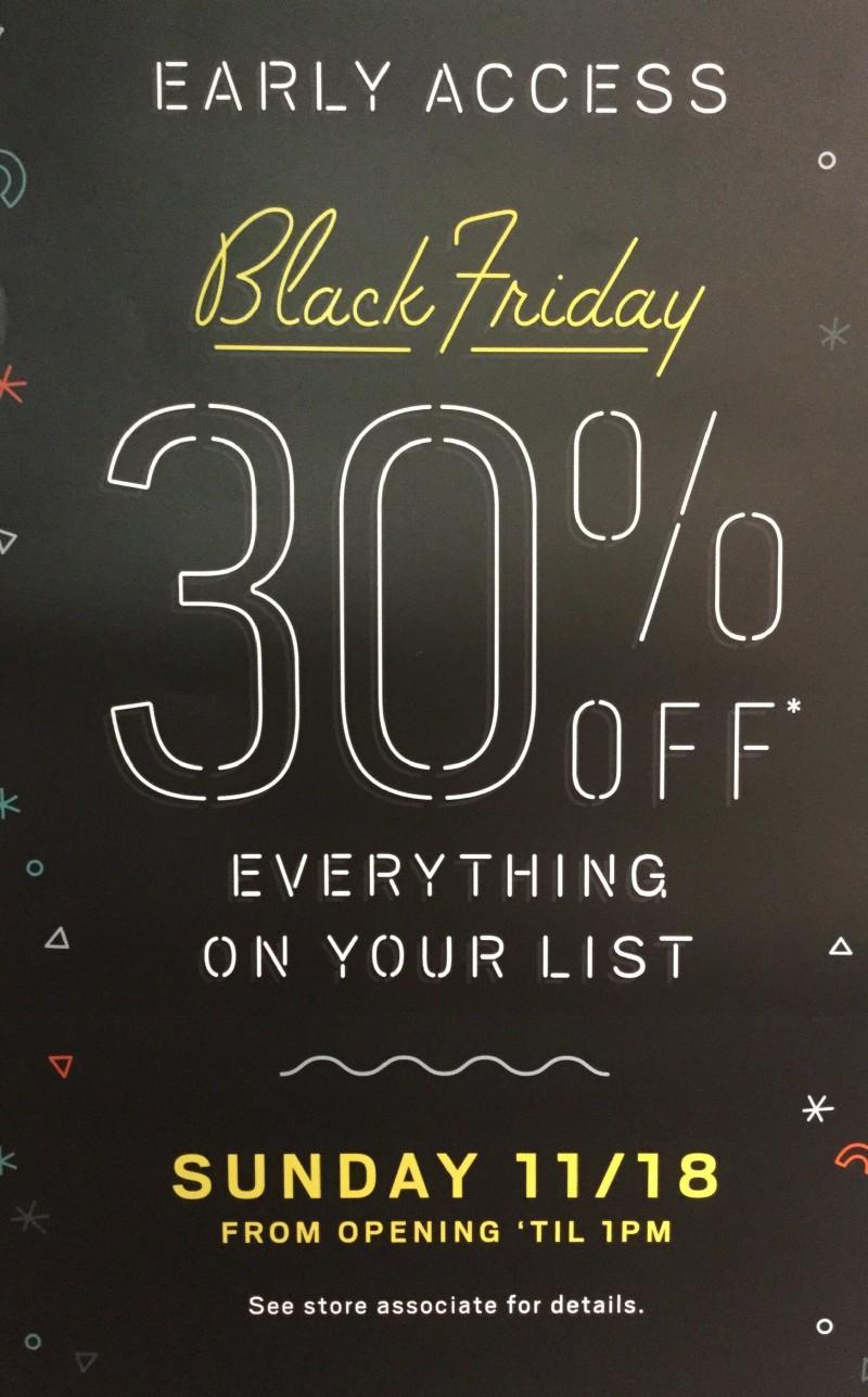 Pre - Black Friday Event from Fossil