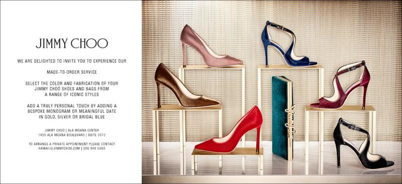 Made-to-Order Shoes and Bags from Jimmy Choo
