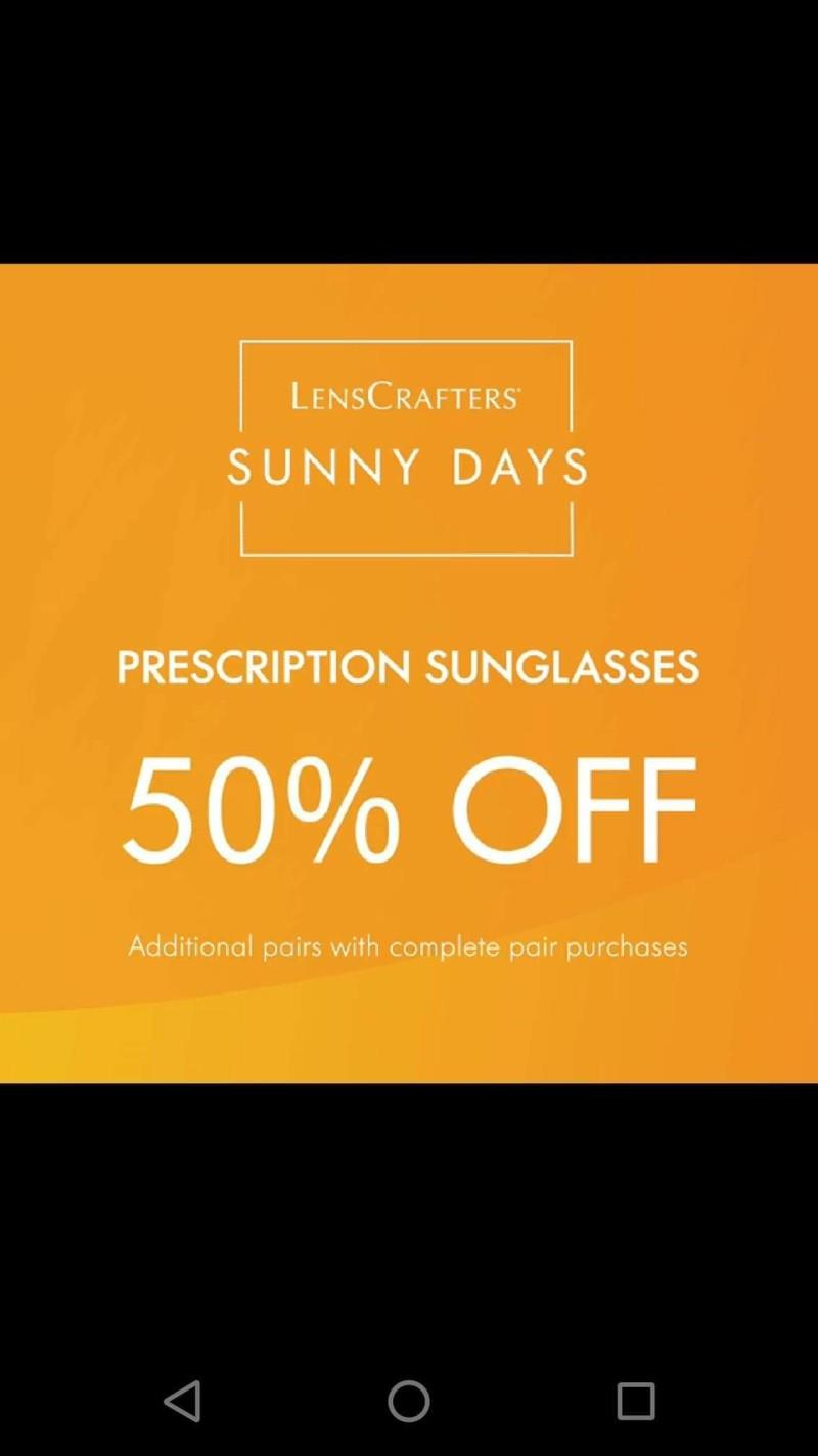 40% Off Lenses with Frame Purchase from LensCrafters