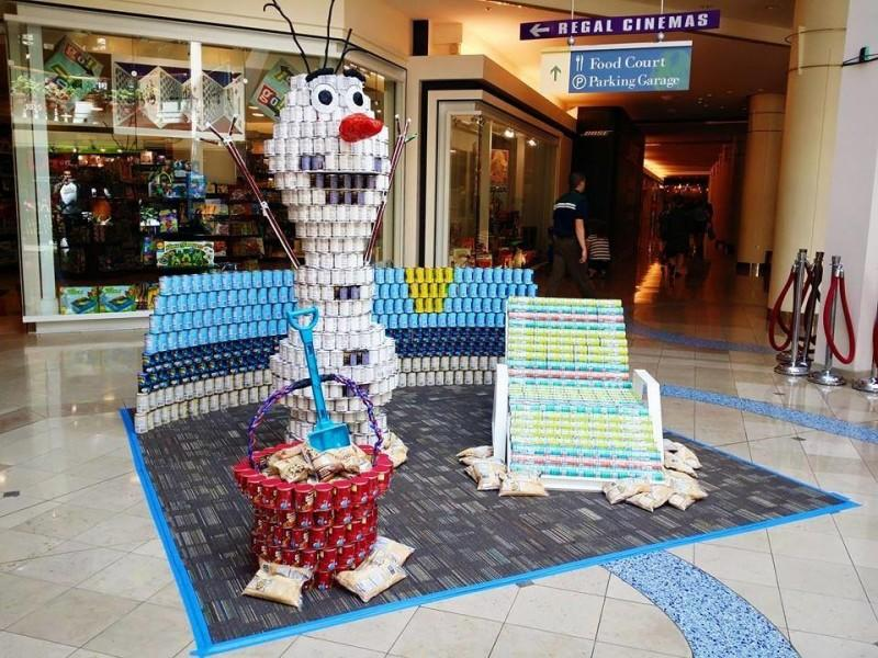 2015 Canstruction® Sculpture