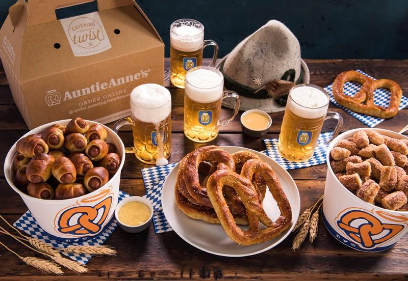 We're bringing back the Prost Package to celebrate Oktoberfest! from Auntie Anne's
