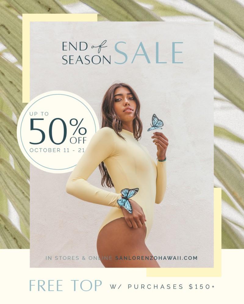 End of Season Sale from San Lorenzo Bikinis
