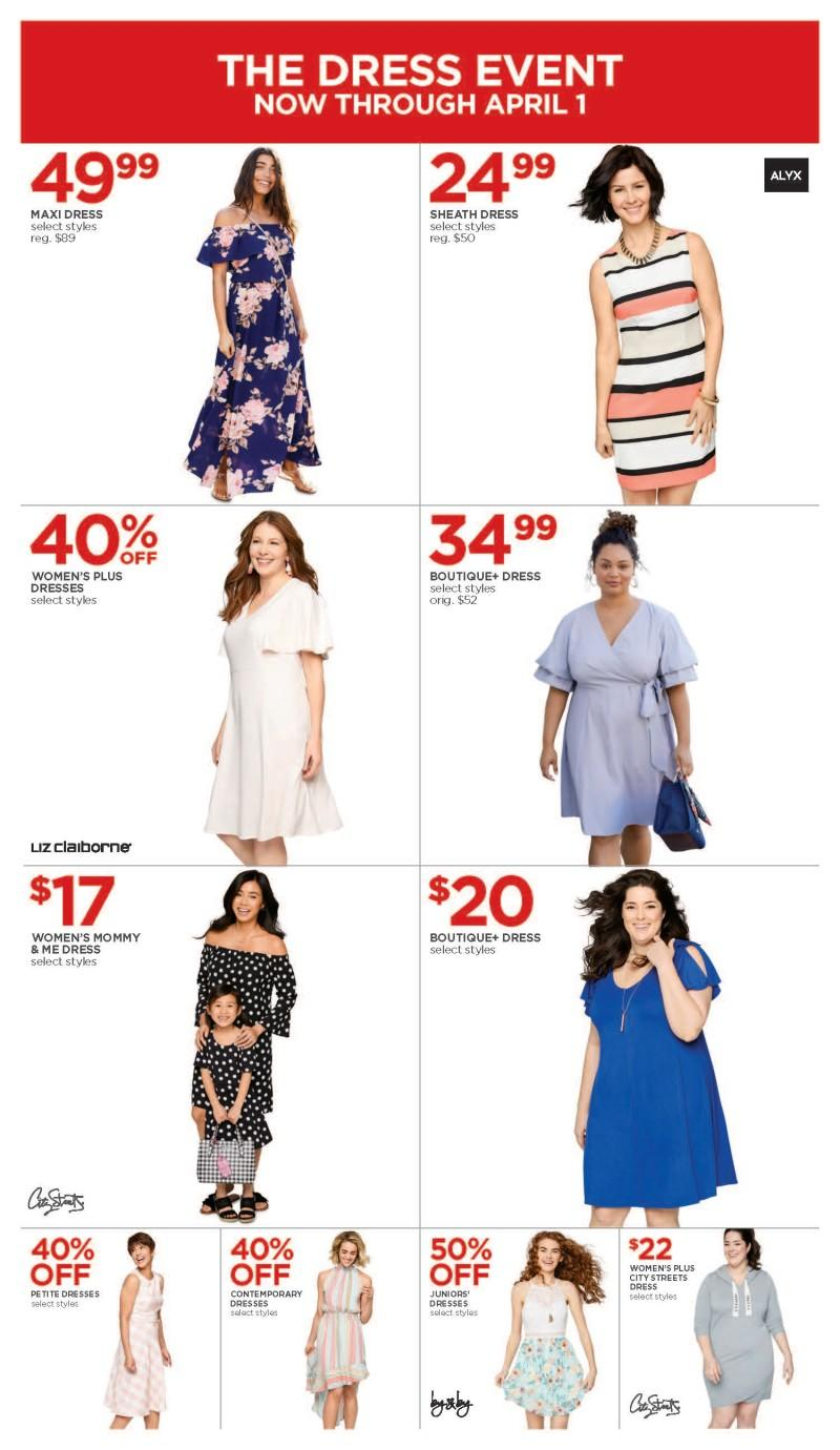 The Dress Event from JCPenney