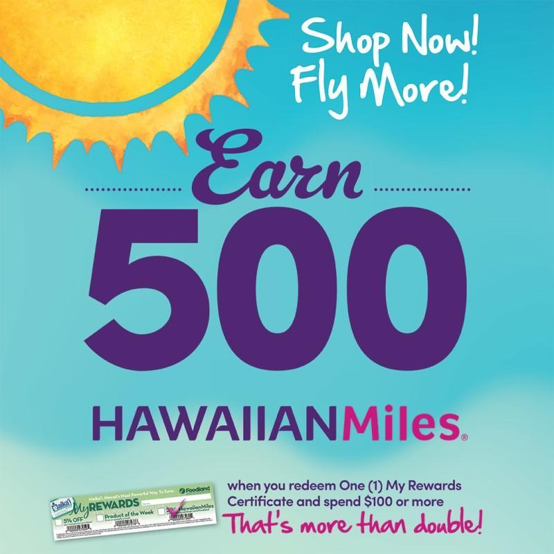 HawaiianMiles Promotion