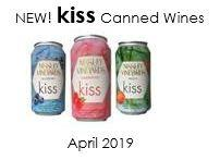 Our New Sparkling Kiss Can Collection is here! from Nissley Vineyards