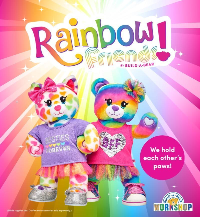 Meet the NEW Rainbow Friends from Build-A-Bear Workshop