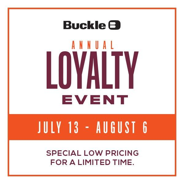 Annual Loyalty Event ! from Buckle