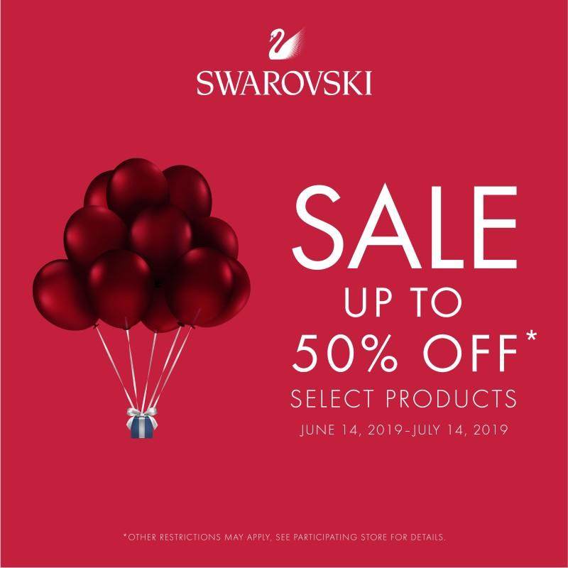 Up to 50% Off Summer Sale from Swarovski