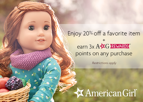 Save 20% from American Girl