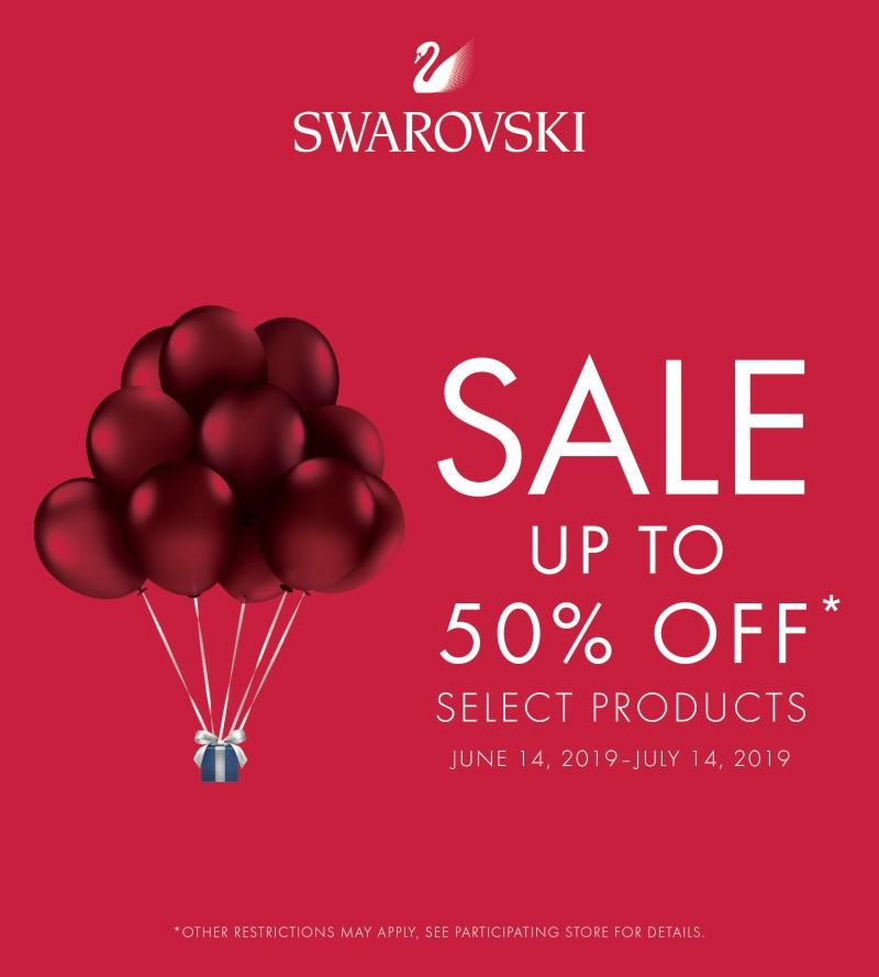 Swarovski Pre-Sale and Summer Sale Event from Swarovski