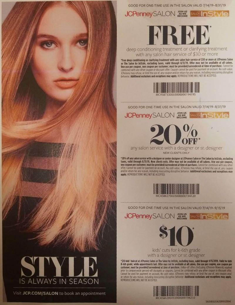 Coupons Galore from JCPenney