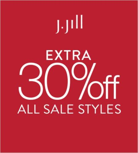 Extra 30% Off* All Sale Styles