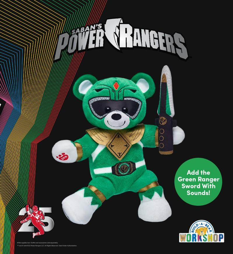 All Systems Go – It's Morphin Time from Build-A-Bear Workshop
