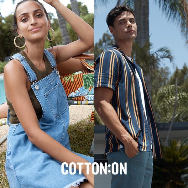 COTTON ON sale is here now!
