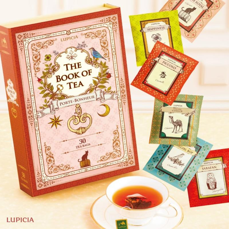 The Book of Tea is Available Now from LUPICIA