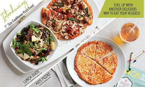"""Introducing 7"""" Size Cauliflower Pizza Crust! from California Pizza Kitchen"""