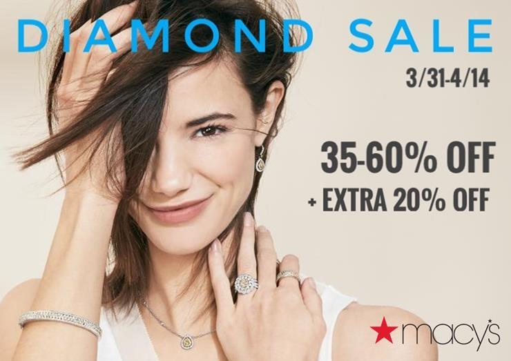 35-60% Off During the Diamond Sale from macy's