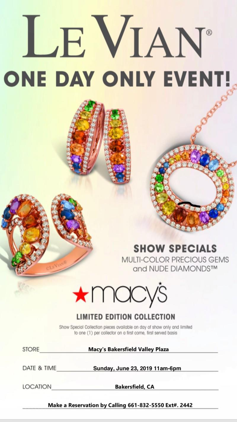 Le Vian Sale - One Day Only from macy's